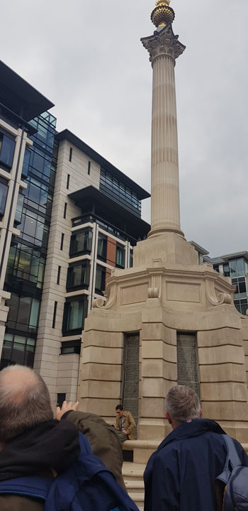 Monument in Paternoster Square