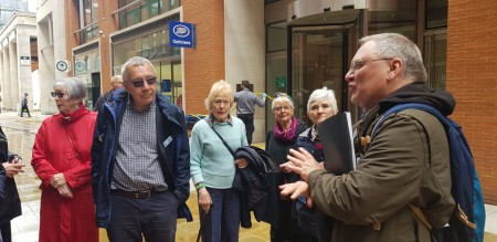 Members and Guide Paternoster Square