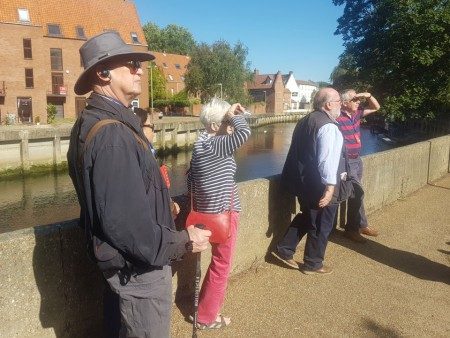 River Wensum. 'Where are the other Club Members?'